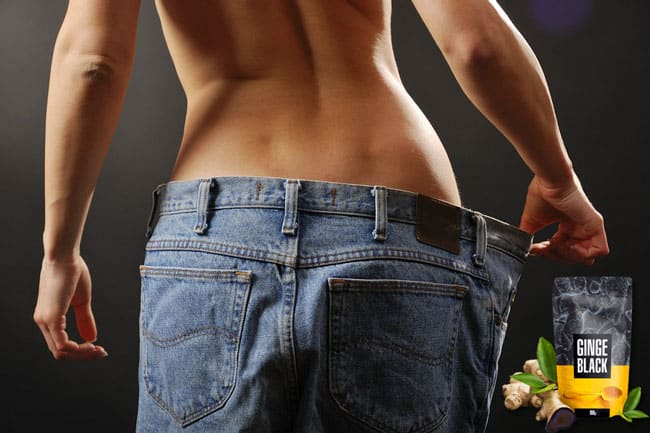 GingeBlack skutecznie wspomaga odchudzanie jest naturalny działa szybko wspomaga dietę