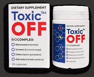 toxic off jak działa na pasożyty i ile kosztuje