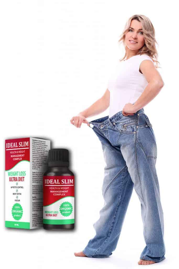 nadwagę skutecznie reguluje usuwa ideal slim
