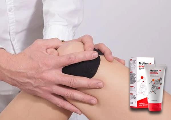 krem motion energy działa kojąco na bóle stawów