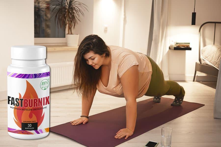 bez względu na ćwiczenia aktywność fizyczną fastburnix pomaga schudnąć